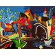 "Набор-стандарт картина по номерам ""Таинственный городок"" 35х45см ROSA START"