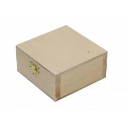 Шкатулка, деревянная с замком, 20х5,5х9см, ROSA TALENT