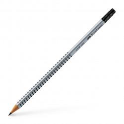 Чернографитовый карандаш GRIP 2001 с ластиком, твёрдость B