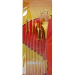 Набор кистей синтетика KOLOS 7016
