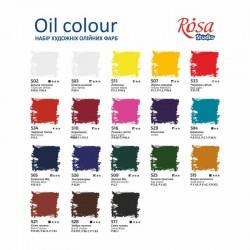 Набор масляных красок 18х20мл ROSA Studio