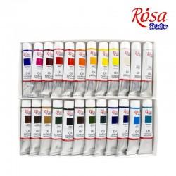 Набор масляных красок 24х20мл Rosa Studio