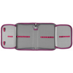 Пенал без наполнения Kite Education College line 1 отделение 2 отворота Розовый K20-622-3