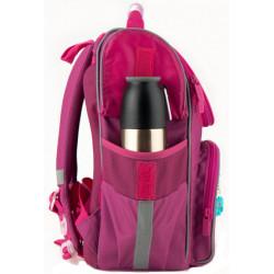 Рюкзак школьный каркасный Kite Education Bunny для девочек 950 г 35х25х13 см 11.5 л Бордовый K20-501S-7
