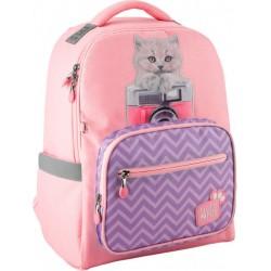Рюкзак Kite Education Studio Pets для девочек 730 г 38x28x13 см 14 л Розовый SP20-770M