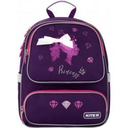 Рюкзак Kite Education Princess для девочек 750 г 36x28x15.5 см 14 л Темно-фиолетовый K20-777S-4
