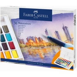 Набор акварели 36 цветов Faber Castell Creative Studio
