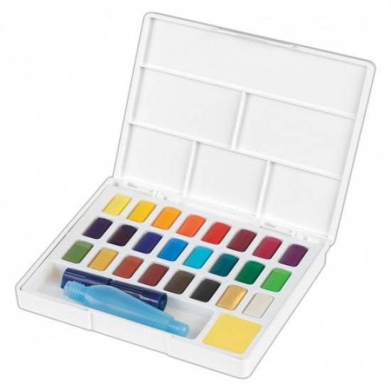 Акварель набор 24 цвета Faber Castell Creative Studio