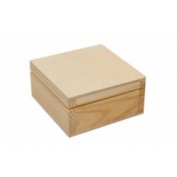 Шкатулка, деревянная, 10х5х10см, ROSA TALENT